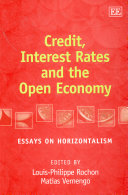Credit, Interest Rates and the Open Economy
