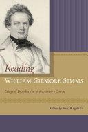 Reading William Gilmore Simms
