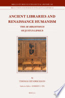 Ancient Libraries and Renaissance Humanism
