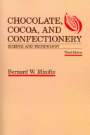 Chocolate  Cocoa and Confectionery  Science and Technology Book