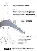 Study on Utilization of Advanced Composites in Commercial Aircraft Wing Structures  Volume 2