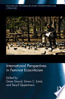 International Perspectives in Feminist Ecocriticism Book