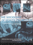 The Sociology of Health Promotion Pdf/ePub eBook