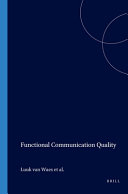 Functional Communication Quality