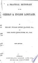 A Practical Dictionary of the German & English Language
