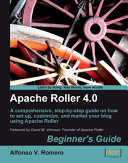 Apache Roller 4. 0, Beginner's Guide
