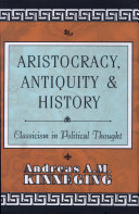 Aristocracy, Antiquity, and History