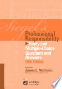 Siegel s Professional Responsibility Book