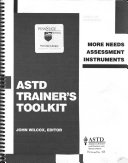 Trainer s Toolkit More Needs Assessment Instruments
