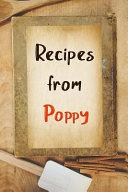 Recipes from Poppy