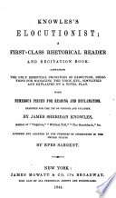 Knowles's Elocutionist