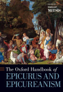 Pdf Oxford Handbook of Epicurus and Epicureanism Telecharger