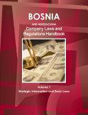 Bosnia and Herzegovina Company Laws and Regulations Handbook