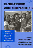 Teaching Writing With Latino A Students