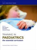 Training in Paediatrics