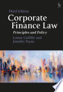 Corporate Finance Law Book