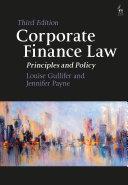 Corporate Finance Law