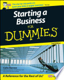 List of Dummies How To Start A Business E-book