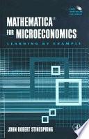 Mathematica for Microeconomics Book