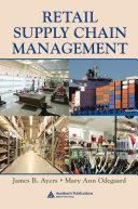 Retail Supply Chain Management Pdf/ePub eBook
