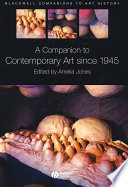 A Companion to Contemporary Art Since 1945 Book PDF