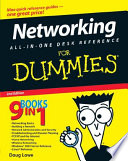Networking All In One Desk Reference For Dummies