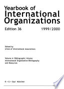 Annuaire Des Organisations Internationales  , Band 4