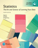 Statistics  The Art and Science of Learning from Data  Global Edition