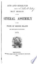 At the General Assembly of the State of Rhode Island and Providence Plantations  Begun and Holden      at     Within and for the Said State  on      in the Year of Our Lord