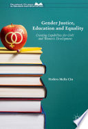 Gender Justice Education And Equality Book