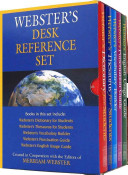Webster s Desk Reference Set