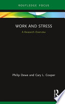 Work and Stress  A Research Overview
