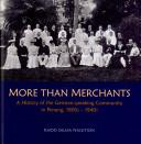 More Than Merchants