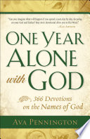 One Year Alone With God Book