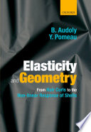 Elasticity and Geometry Book