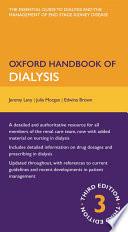Oxford Handbook of Dialysis Book