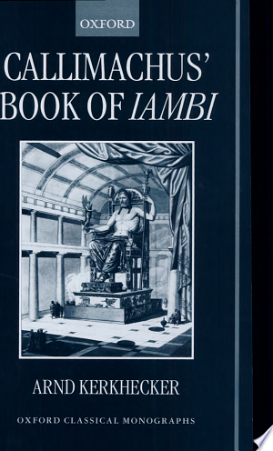 Download Callimachus' Book of Iambi Free PDF Books - Free PDF