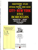 Atlas and Official Postal Zone Guide of the City of New York