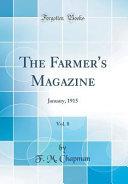 The Farmer S Magazine Vol 8