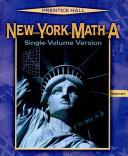 New York Math A