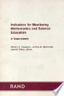 Indicators for Monitoring Mathematics and Science Education