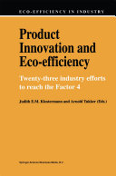 Product Innovation and Eco Efficiency