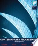 EBOOK: Contemporary Management - MEE, 2e