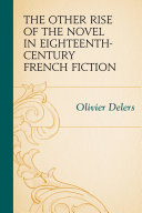 Pdf The Other Rise of the Novel in Eighteenth-Century French Fiction Telecharger