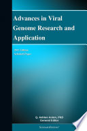 Advances in Viral Genome Research and Application  2011 Edition Book