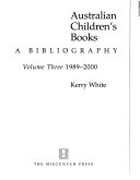 Australian Children's Books: 1989-2000
