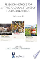 Research Methods for Anthropological Studies of Food and Nutrition Book