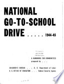 National Go-to-school Drive, 1944-45