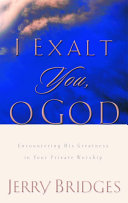 I Exalt You  O God