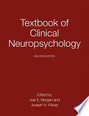 """Textbook of Clinical Neuropsychology"" by Joel E. Morgan, Joseph H. Ricker"